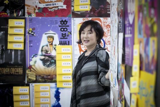 2012년부터 7년째 새로운 창극을 실험 중인 김성녀 국립창극단 예술감독. 권혁재 사진전문기자
