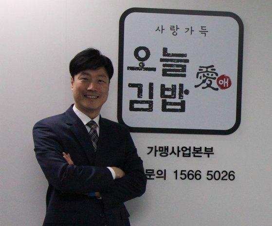퇴사 위기를 창업 기회로 바꾸는 데 성공한 문영일 대표. [사진 이상원]
