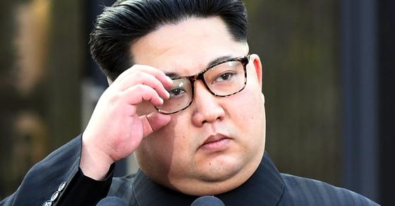 김정은 북한 국무위원장. [청와대사진취재단]