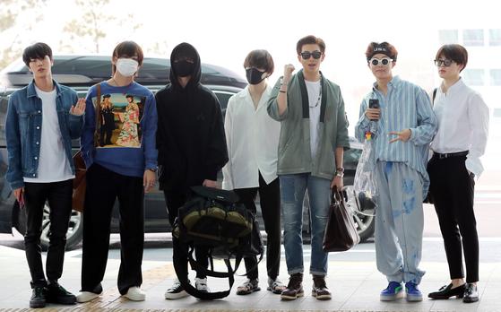 [포토]방탄소년단, 두번째 빌보드뮤직어워