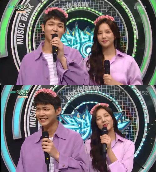 '뮤직뱅크' 이서원, 솔빈 사진=KBS2 '뮤직뱅크' 방송화면 캡처