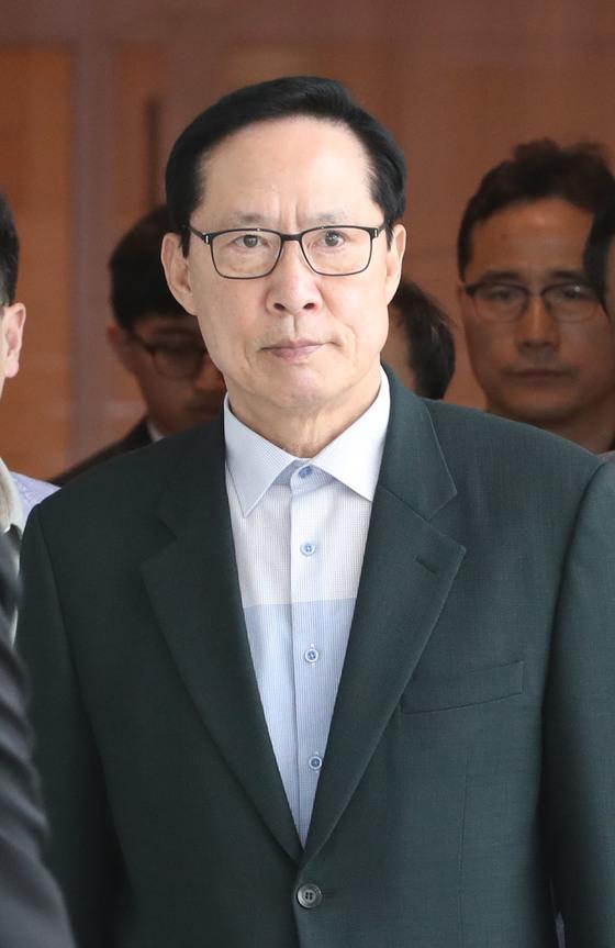송영무 국방부 장관 [연합뉴스]
