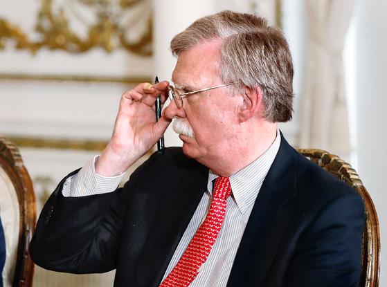 존 볼턴 미 백악관 국가안보 보좌관. [로이터-=연합뉴스]