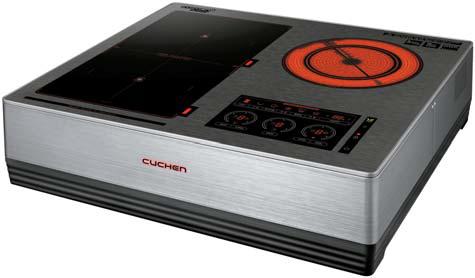 쿠첸의 전기레인지는 한국 요리 특성에 맞춘 조 리 모드와 기능을 갖췄다. [사진 쿠첸]