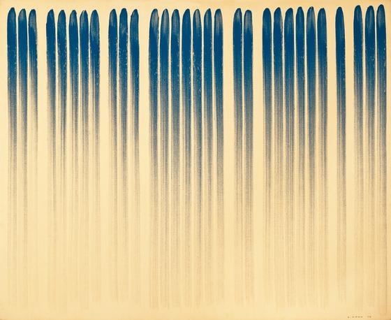 이우환, , Oil and mineral pigment on canvas, 130x162cm, 1978, [사진 서울옥션]