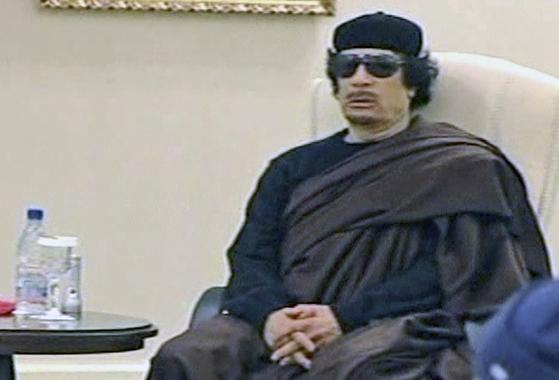 무아마르 카다피 리비아 전 국가원수