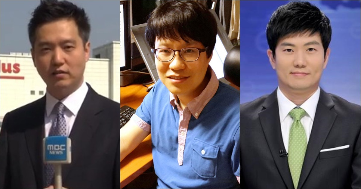 왼쪽부터 김세의 MBC 기자, 윤서인 작가, 최대현 MBC 아나운서. [사진 MBC, 윤서인 페이스북, MBC]