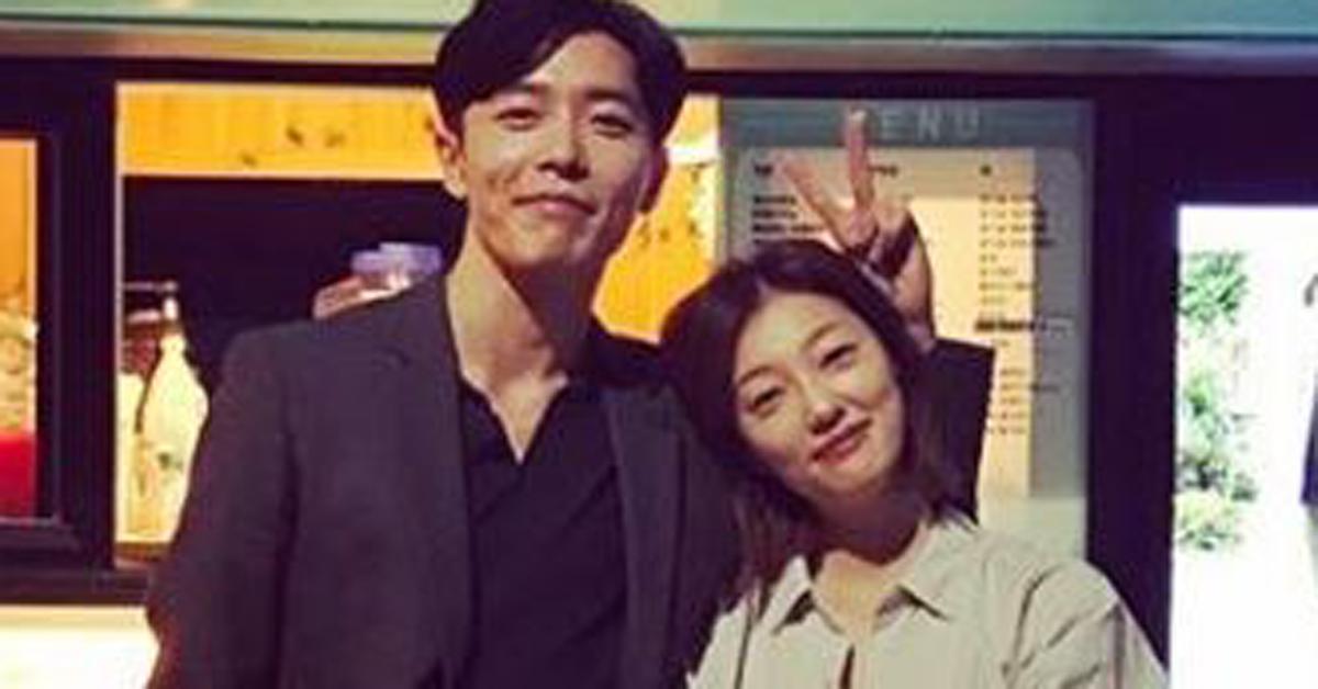 김재욱(왼쪽)과 이엘. [사진 김재욱 인스타그램]