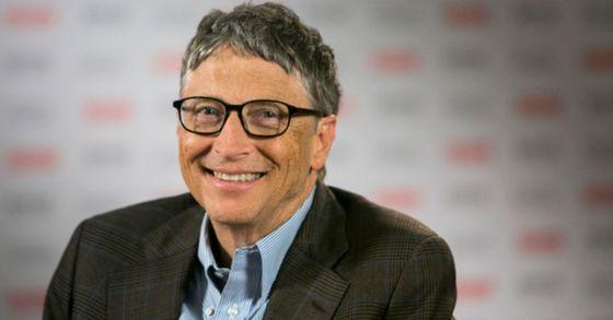 마이크로소프트 창립자, 빌 게이츠.