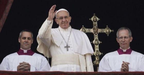 프란치스코 교황. [AP=연합뉴스]