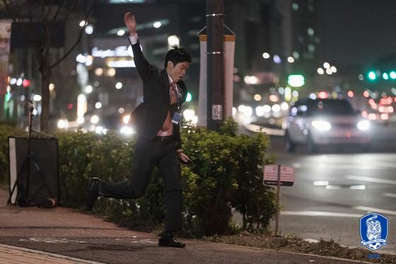 대한축구협회-슛포러브가 공동 제작한 웹드라마에 카메오로 나선 박지성. [사진 대한축구협회]