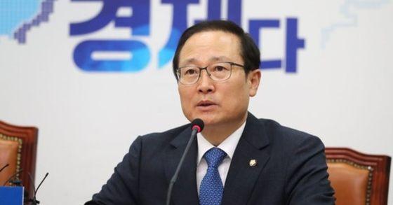 더불어민주당 홍영표 원내대표. [연합뉴스]