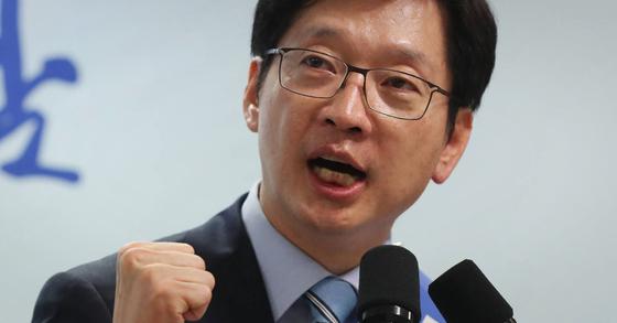 김경수 더불어민주당 경남지사 후보. [연합뉴스]