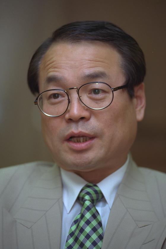 김문환 서울대 미학과 교수. [중앙포토]