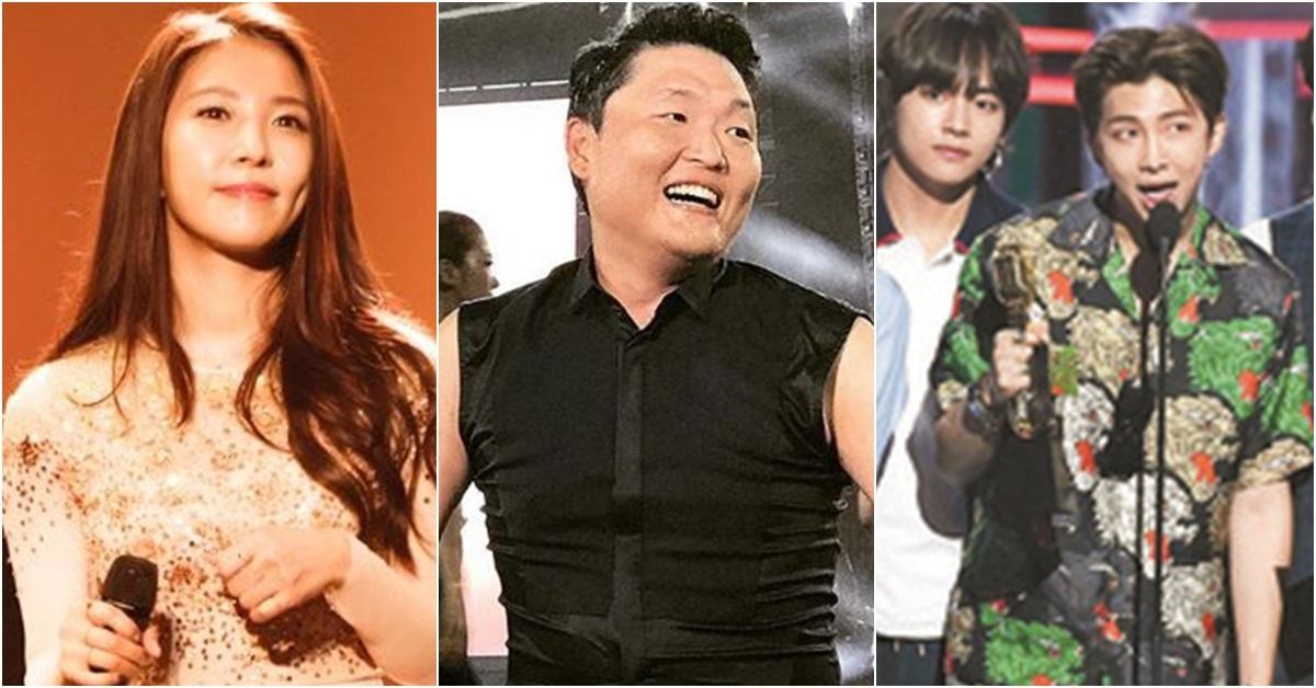 왼쪽부터 가수 보아·싸이·방탄소년단. [사진 보아·싸이 인스타그램, 빌보드]
