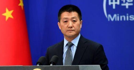 루캉 중국 외교부 대변인. [사진 중국 외교부]