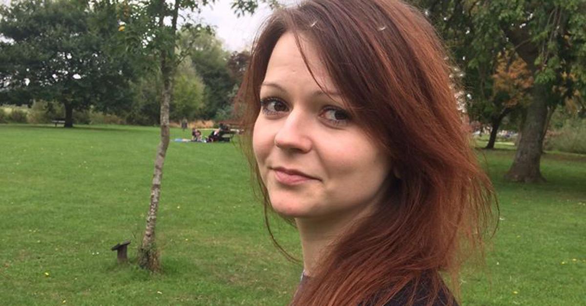 지난 3월 초 영국 솔즈베리에서 신경작용제 '노비촉'에 노출돼 의식을 잃은 채 발견됐던 전직 러시아 이중 스파이 세르게이 스크리팔의 딸 율리아 스크리팔. [율리야 페이스북]