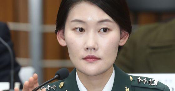 지난 2016년 12월 22일 조여옥 전 청와대 간호장교가 박근혜 정부의 최순실 등 민간인에 의한 국정농단 의혹사건 진상규명을 위한 국정조사 5차 청문회에 출석해 조사위원들의 질의를 받고 있다. [중앙포토]