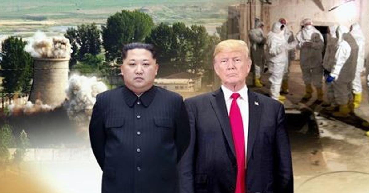 도널드 트럼프 미국 대통령이 24일(현지시간) 6·12 싱가포르 북미정상회담을 전격 취소했다. [연합뉴스]