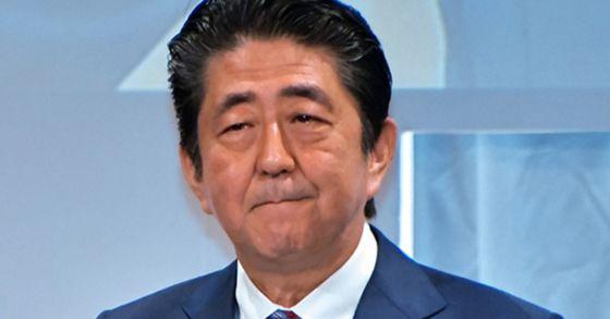 아베 신조 일본 총리. [사진 UPI=연합뉴스]
