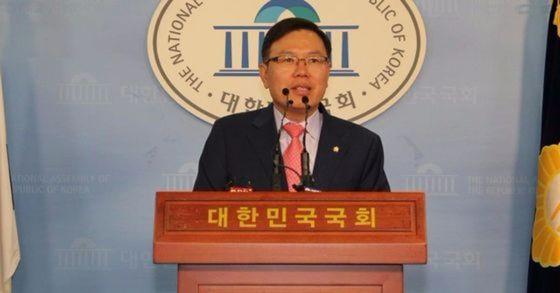 정태옥 자유한국당 원내대변인. [중앙포토]