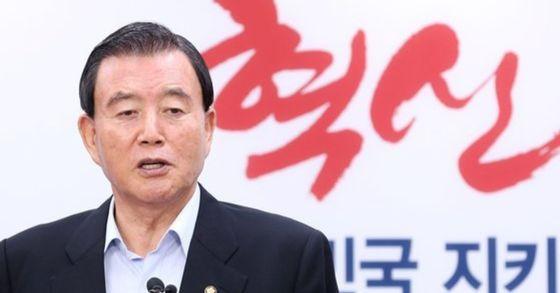 홍문표 자유한국당 사무총장. 뉴스1
