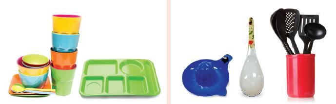 멜라민수지 주방용품은 싸고 단단해서 다양한 용도로 많이 쓰인다. [자료 식약처]