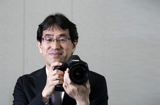 요시카이 슌지 캐논코리아컨슈머이미징 신임 대표. 장진영 기자