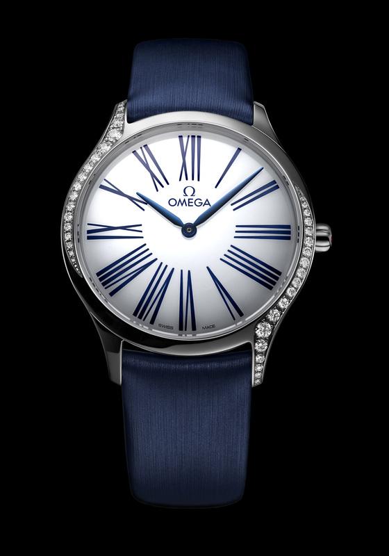 오메가의 여성 시계 '트레저'.