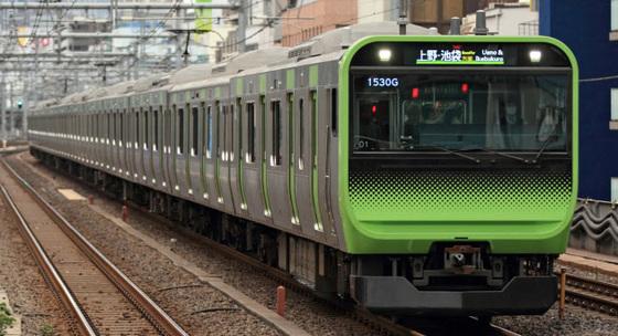 JR동일본이 운행하는 도쿄 야마노테선 열차. [사진 JR동일본 제공, 닛케이 홈페이지 캡처]
