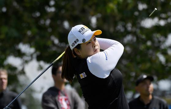 한국인이 가장 좋아하는 골프 선수 1위로 선정된 박인비. [AP=연합뉴스]