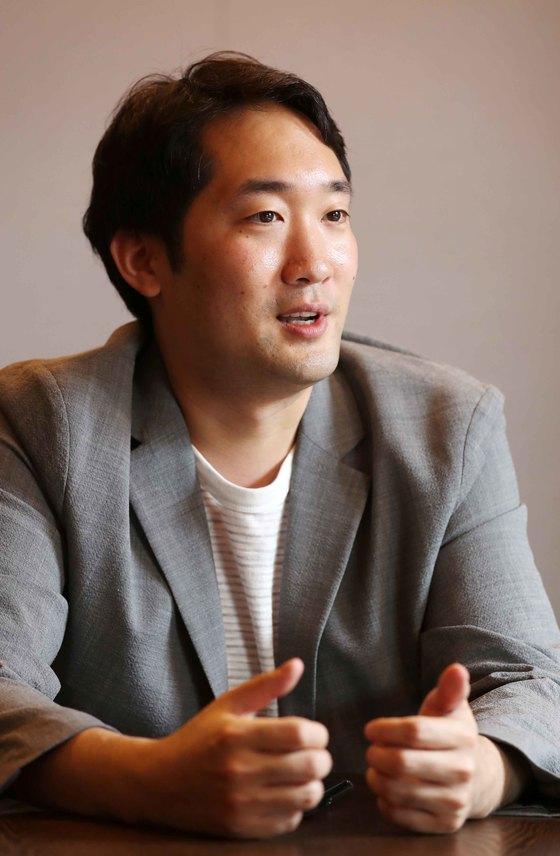 이준표(36) 소프트뱅크벤처스 신임 대표. 김상선 기자