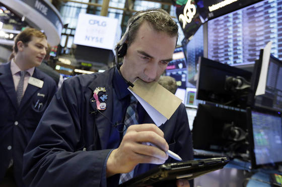 다음주는 북미 정상회담, 미국 연방공개시장위원회(FOMC), 유럽중앙은행(ECB) 통화정책회의를 앞두고 시장의 숨 고르기가 예상된다. [AP=연합뉴스]