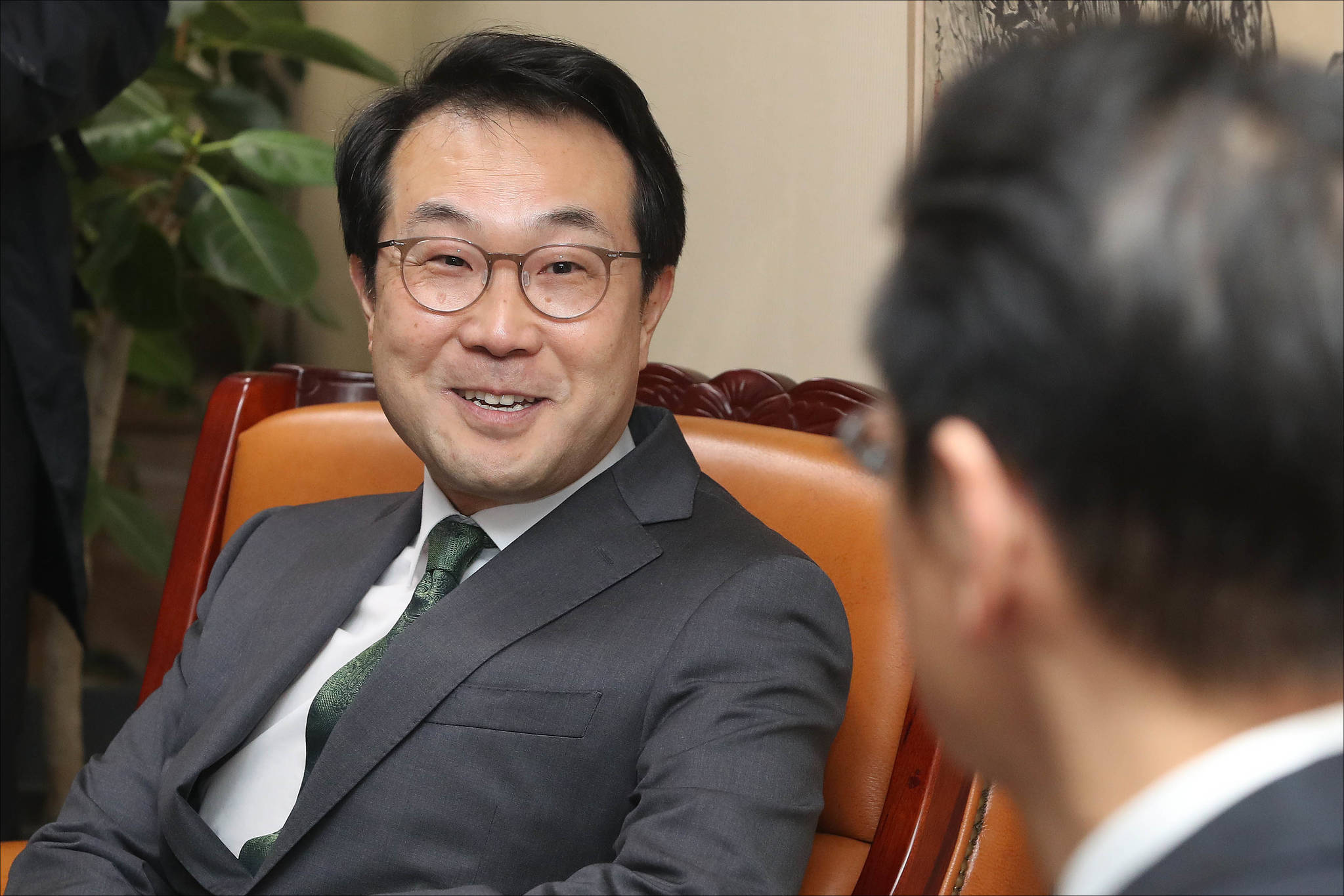 이도훈 외교부 한반도평화교섭본부장. [중앙포토]