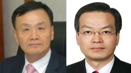 야4당이 드루킹 사건 특별검사 후보로 임정혁(좌측) 변호사와 허익범 변호사를 청와대에 추천하기로 4일 합의했다. [연합뉴스]