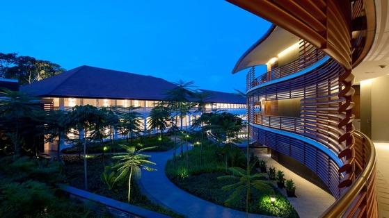 북미 정상회담 열릴 카펠라 호텔 내부 모습. [노만 포스터 건축가 홈페이지]