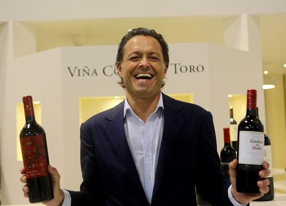 칠레 최대 와이너리 콘차이토로의 크리스티안 로페즈 해외사업담당 CEO. 김영주 기자.