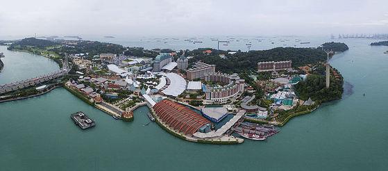 북미정상회담 개최 장소로 최종 결정된 싱가포르 센토사섬. [중앙포토]