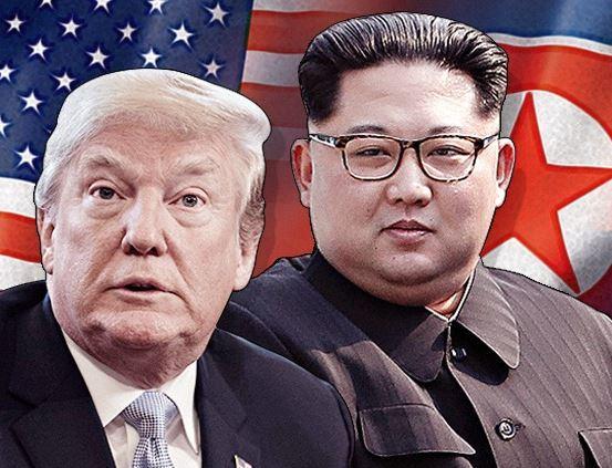 북미정상회담 이미지. 도널드 트럼프 미국 대통령(왼쪽)과 김정은 북한 국무위원장. [뉴스1]