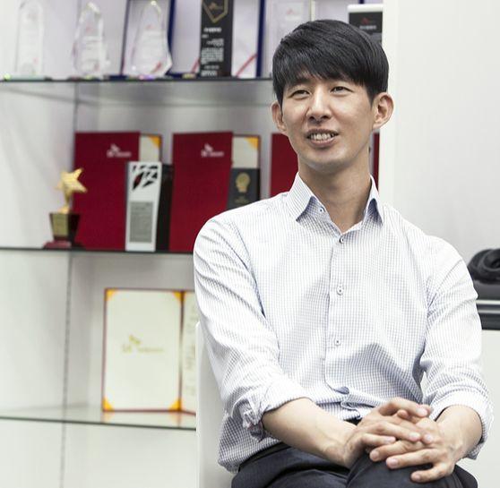 이종민 SK텔레콤 미디어기술원장 인터뷰. [사진 SK텔레콤]