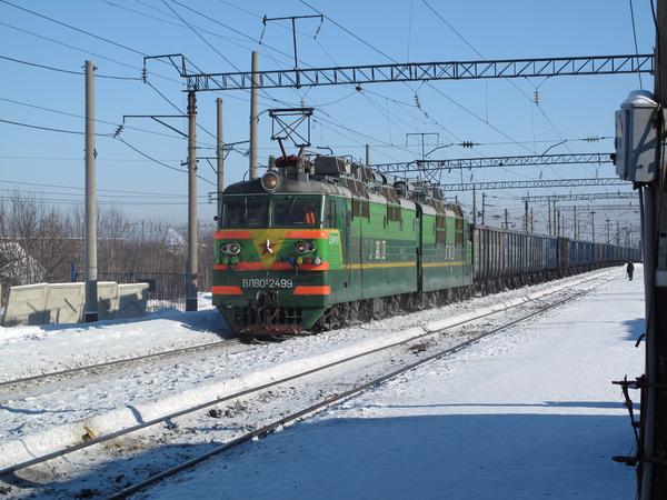 시베리아 횡단철도.