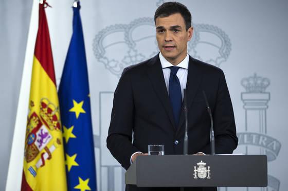 최근 취임한 페드로 산체스 스페인 신임 총리. [AP=연합뉴스
