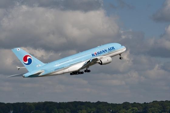 대한항공의 항공기 사진