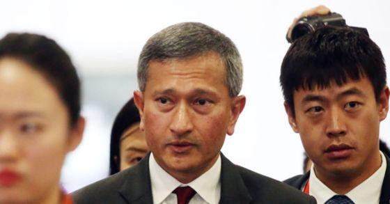 비비안 발라크리쉬난 싱가포르 외교장관. [연합뉴스]
