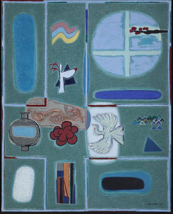 1957년작 '영원의 노래.' ⓒWhanki Foundation·Whanki Museum. [사진 대구미술관]