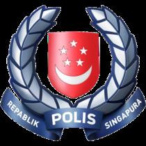 싱가포르 경찰 휘장.