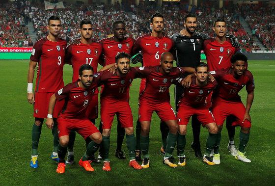 포르투갈 축구대표팀. [로이터=연합뉴스]