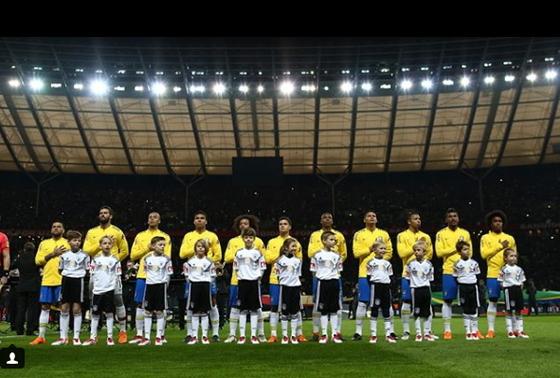 4년 전 월드컵 4강에서 독일에 1-7 참패를 당했던 브라질은 러시아에서 명예회복을 노린다. [브라질축구협회 SNS]