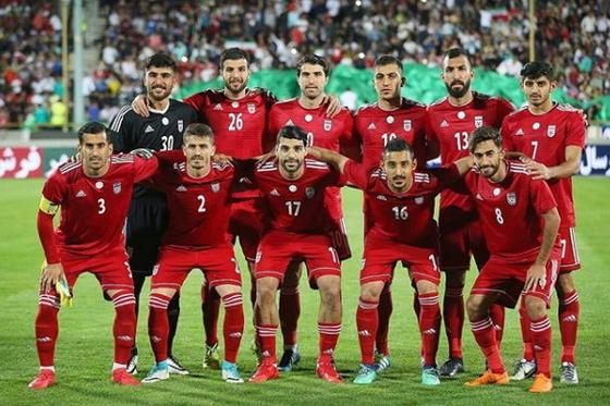 이란축구대표팀은 러시아 월드컵에서 포르투갈, 스페인, 모로코와 죽음의 조에 속했다. [이란축구협회 SNS]