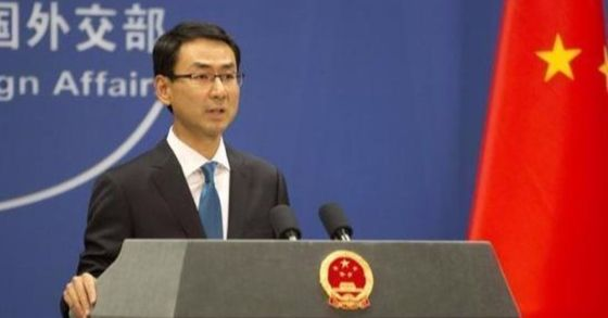 겅솽 중국 외교부 대변인. [중앙포토]
